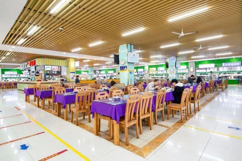 武汉工商学院食堂